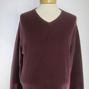 Club Room Estate Cashmere Mens Large LS Sweater